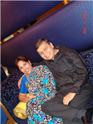 Rajendra Darda with wife Ashoo at a relaxed moment.