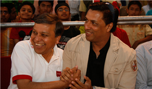 Rajendra Darda with Film Director Madhur Bhandarkar.