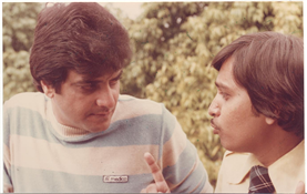 Rajendra Darda with actor Jitendra.
